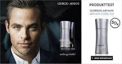 Giorgio Armani Code Ice туалетная вода 125 ml. (Джо́рджо Арма́ни Код Айс), фото 3