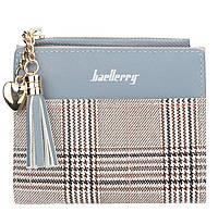 Жіночий гаманець BAELLERRY Young Mini клатч Блакитно-Коричневий (SUN2980), фото 1