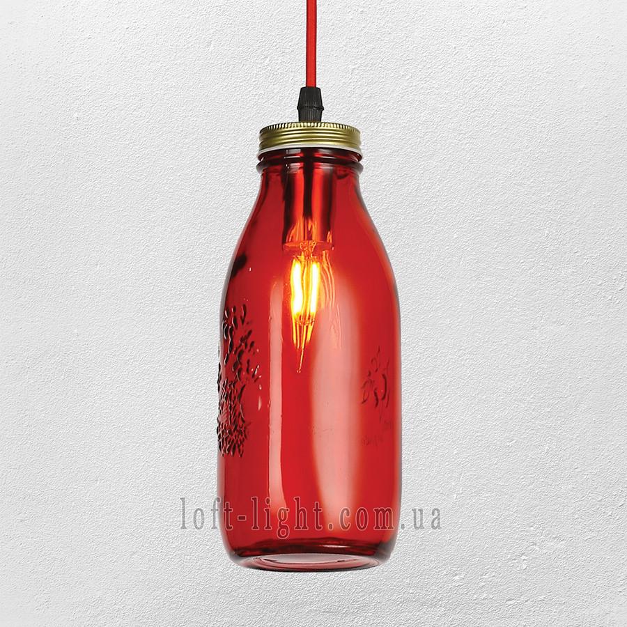 Люстра ( подвес) в стиле лофт (модель 56-PR5520-1  RED )
