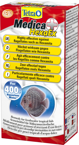 Tetra Med. HEXA-ex  20ml, на 400л - АкваЗоо маркет ТриРифа в Харькове