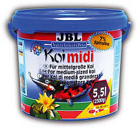 JBL Koi midi - Корм для карпов Кои средней величины, 5,5 л