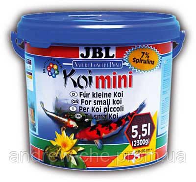 JBL Koi mini - Корм в форме гранул для молодых карпов Кои 4016800, 5,5 л - АкваЗоо маркет ТриРифа в Харькове