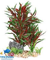 Декоративное пластиковое растение Trixie 18 см., красное