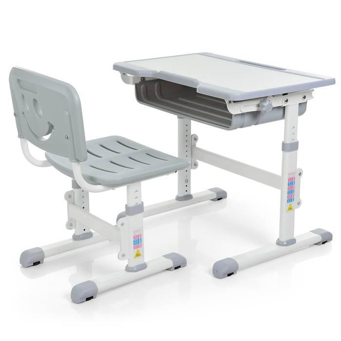 Детская регулируемая парта и стул Bambi (M 3230-11)