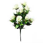 Букет розы на 10 голов NС 310 (8 шт./ уп.) Искусственные цветы оптом, фото 4