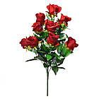 Букет розы на 10 голов NС 310 (8 шт./ уп.) Искусственные цветы оптом, фото 2