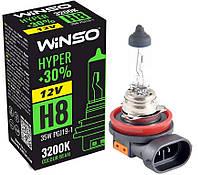 """Автомобильная галогенная лампа """"Winso"""" H8 Hyper +30% (12V)(35W)"""