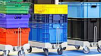 Использование пластиковой тары для склада