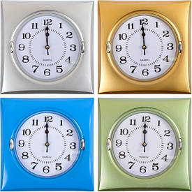 Настенные часы «Квадрат» 22,5×22,5×4,5 см                694