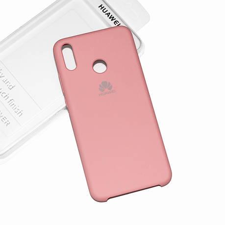 Силиконовый чехол на Huawei Honor 8X Soft-touch Pink, фото 2
