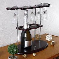Мини бар подставка со стаканами BST480082