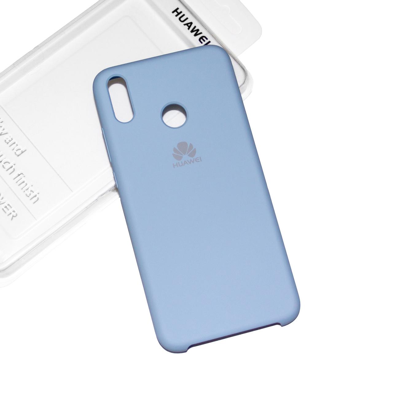 Силиконовый чехол на Huawei Honor 8X Soft-touch Sky Blue