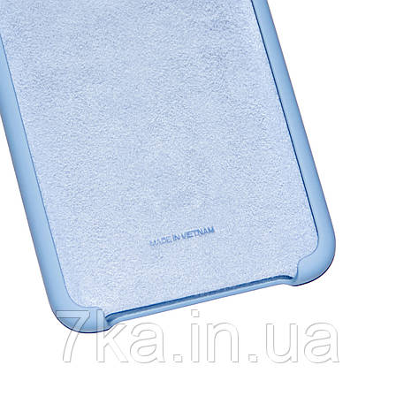 Силиконовый чехол на Huawei Honor 8X Soft-touch Sky Blue, фото 2