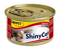 Консервы Gimpet Shiny Cat для кошек, c курицей, 70г