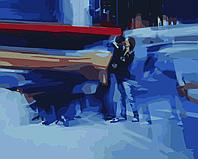 Картина по номерам Поцелуй (Худ. Алексей Чернигин), 40x50 см., Домашнее искусство