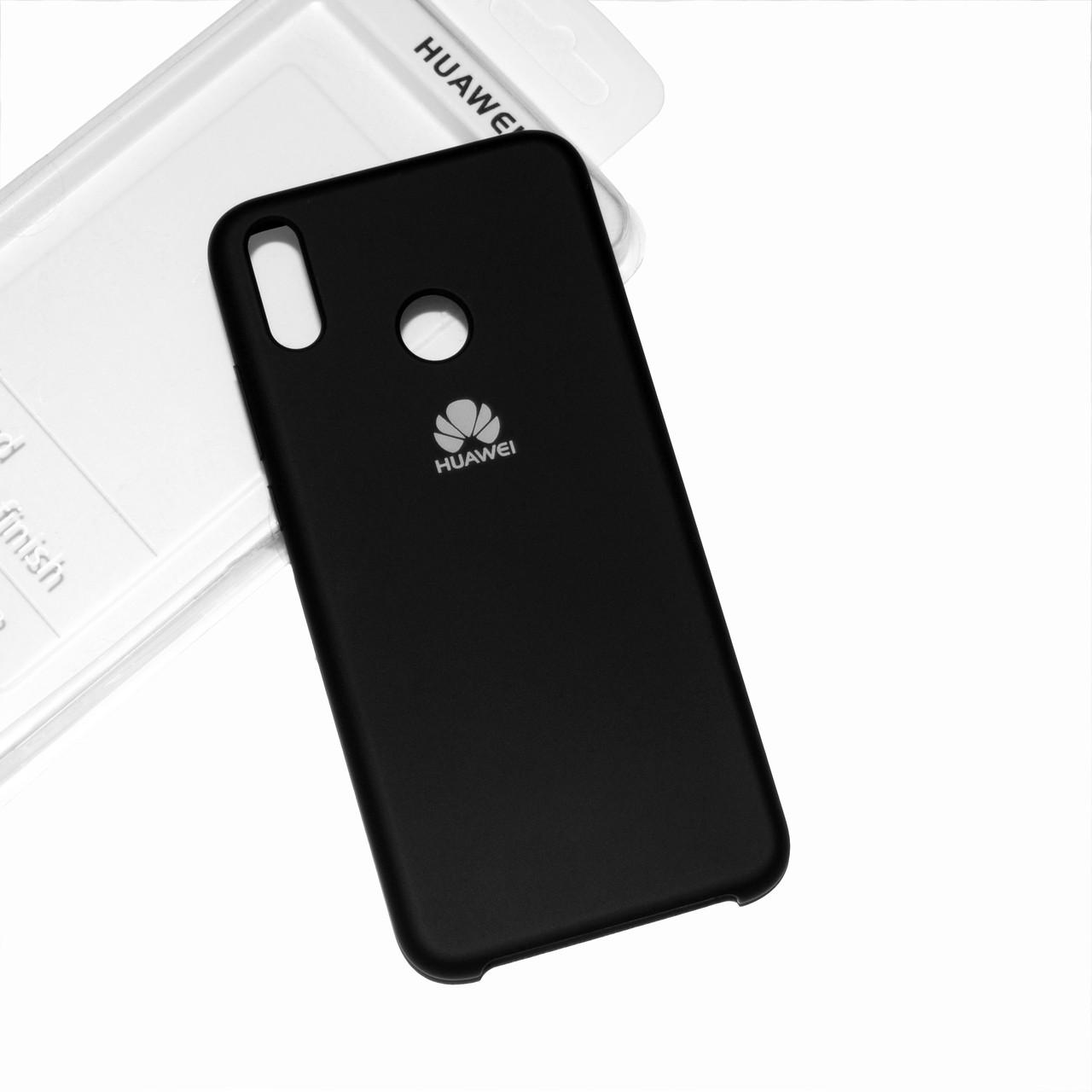 Силиконовый чехол на Huawei Honor 8X Soft-touch Black
