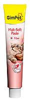 Паста для выведения шерсти Gimpet Malt-Soft для кошек, 50г