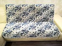 Покрывало дивандек 140*200 светло серый Турция