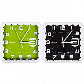 Настенные часы «Квадрат кружево» без рисунка 22×22×4 см                     8882круж