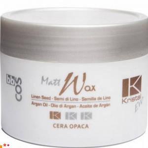 Воск матовый для волос BBCOS KRISTAL EVO MATT WAX, 100 мл