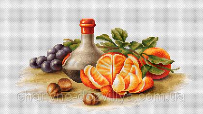 """Набор для вышивания крестиком """"Натюрморт с апельсинами"""""""