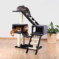 Дряпка Trixie Malaga Scratching Post для кошек, антрацитовая 109см