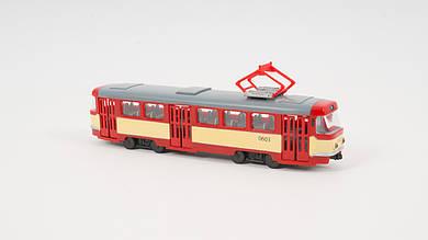 Трамвай PLAY SMART с подвижными деталями и подсветкой