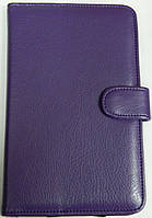 Чехол для планшетов с диагональю 7 дюймов фиолетовый сделанный из искусственной кожи, фото 1