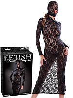 Эротическое платье с маской Lace Disgrace
