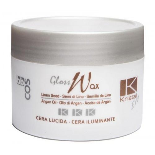 Воск блестящий для волос BBCOS KRISTAL EVO GLOSS WAX, 100 мл