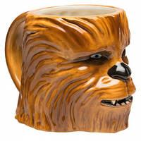 Кружка керамическая 3D в виде головы Вуки Звёздные войны Star Wars Chewbacca