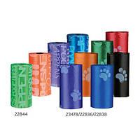Сменные пакеты для сумки для фекалий Trixie, с лапками, S, 4х20шт