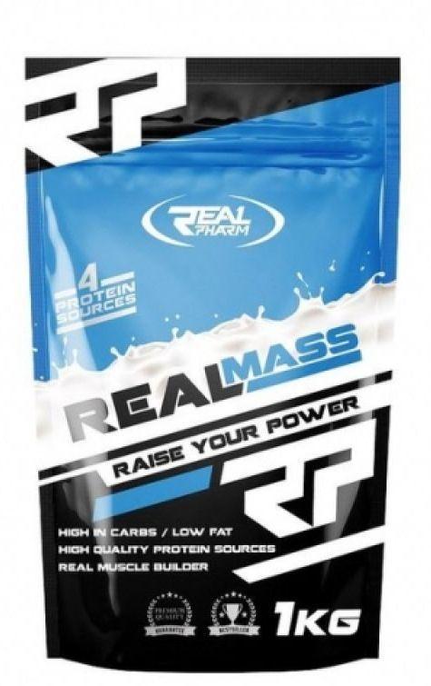 Гейнер Real Pharm Real Mass 1 kg caramel