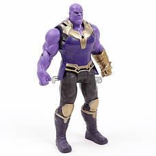 Фигурка Танос Герой Marvel Hasbro THANOS игрушка Titan Hero Power FX Port 18 см!, фото 3