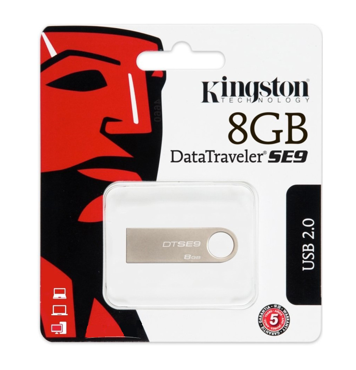 Флешка KINGSTON 8GB микс