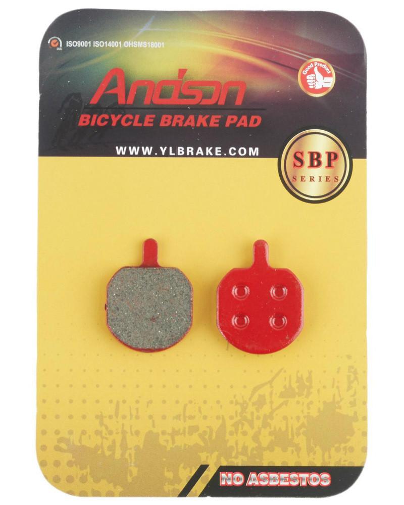 Колодки тормозные Andson SBP-1009 дисковые