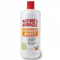 Средство 8 in 1 Natures Miracle Laundry Boost, для стирки, от пятен и запахов животных, 946мл