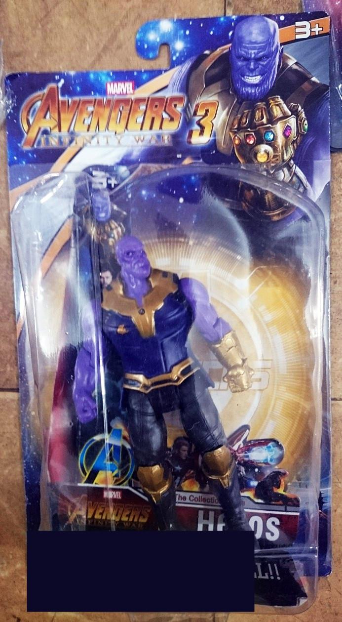 """Фигурка суперзлодея Танос """"Мстители: Война бесконечности"""""""