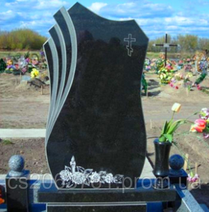 Памятник гранитный одиночный - STONE AGE в Житомирской области