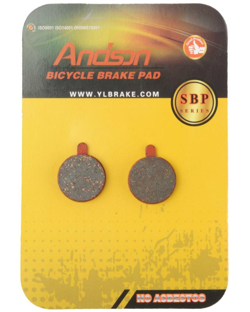 Колодки тормозные Andson SBP-1013 дисковые