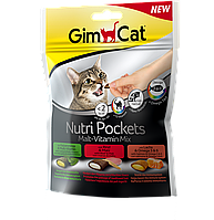 Лакомства GimCat Nutri Pockets Malt – Vitamin Mix для кошек, 150г