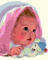 Картина по номерам Чистое сердце, 40x50 см., Домашнее искусство