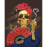 Картина по номерам Фріда Кало, 40x50 см., Идейка