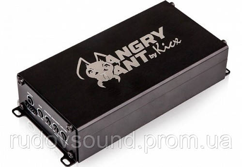 Усилитель Kicx Angry Ant 4CH (4 канала   85w в 4Ω   Класс:D)
