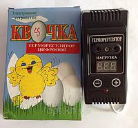 """Цифровой терморегулятор """"Квочка"""" для инкубаторов"""