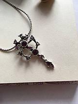 Цепочка с подвеской / колье с кристаллами Pilgrim, фото 3