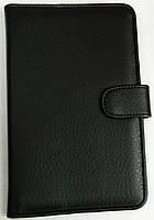 Чехол для планшетов с диагональю 7 дюймов чёрный сделанный из искусственной кожи , фото 1
