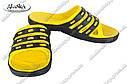 Шлепанцы мужские желто-черные (Код: П-17) , фото 4