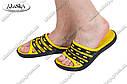Шлепанцы мужские желто-черные (Код: П-17) , фото 6