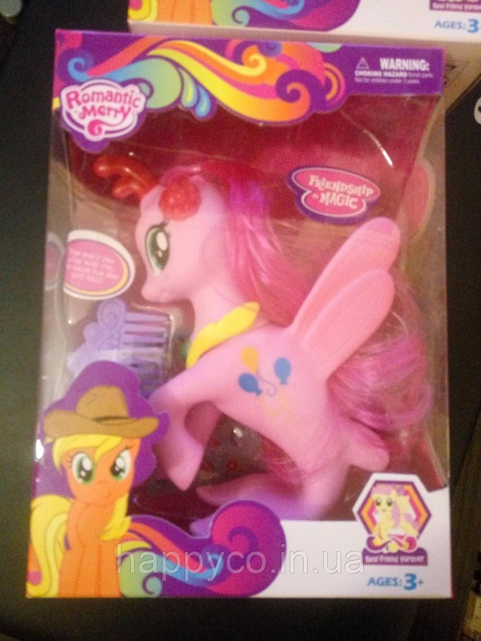 Игрушечная пони  для девочек с аксессуарами в коробке